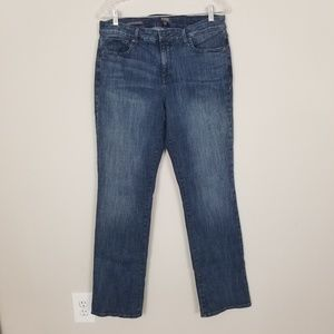 NYDJ/Fits Everything Marilyn Straight Jeans SZ12